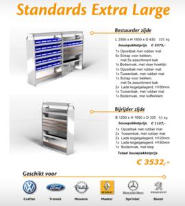 Standards Extra Large Bouwpakket